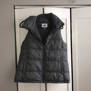 Old navy light grey vest